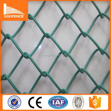 China factory high quality diamond shape chain link fence / decorative chain link fence /metal diamond fence panel for sale