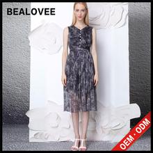 2015 casual soie imprimée robe moulante mesdames robes arrivée de nouveaux femmes de mode de bal et robes de danse latine