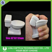 Funny Toilet Shape PU Stress Ball Toy