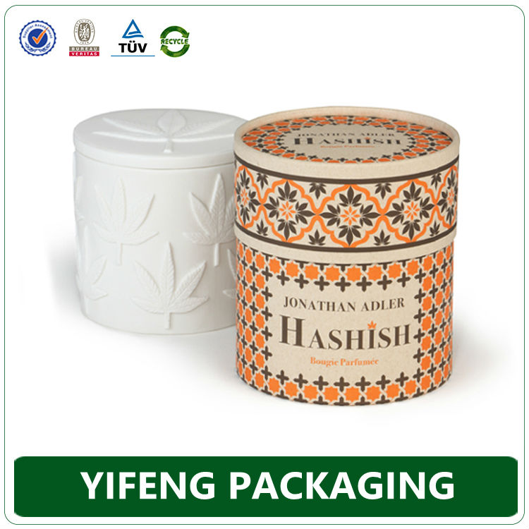 Clamshell Packaging For Candles Ecofriendly Corrugated Candle Box Packaging