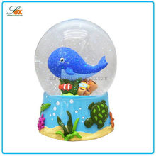 Top Quality Most Popular Under The Sea World Snow Water Globes