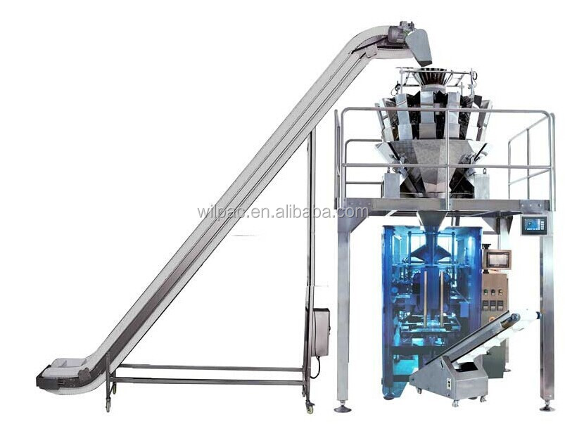 Automatic granola bar packaging machine with small scale for Food bar packaging machine