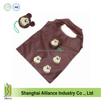 Monkey Shape Foldable Shopping Tote Bag