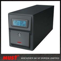 LCD 1000va home UPS line interactive UPS for fan / fridges/ lamp