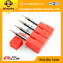 HRC 55 2/4 flutes cutting tool carbide end mill