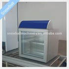 Pequenas sd-55 sorvete bancada comercial dispaly showcase freezer
