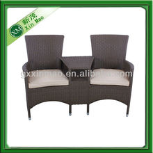 two seaters rattan chair living room furniture