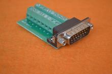 """DIN Rail Mount 40-pin 0.05"""" Mini D Ribbon/MDR Female Interface Module, SCSI"""