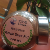 Best Quality 8 years key product Organic Pure Grape Seeds Extract with Polyphenols 95% ,98% free sample factory supply