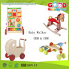 2015 New Wooden Baby Walker Toys,Educational Kids Baby Walker,Multifunctional Baby Walker
