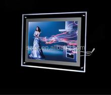 Elegant funny wall mounted acrylic LED photo frame wholesale