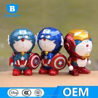 Doraemon cos captain America, Doraemon prototype, Wholesale toys for babies