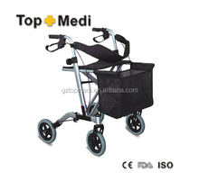 Multi-function Folding Supper Hot Sale Aluminum Walker Rollator Mobility for Disable People