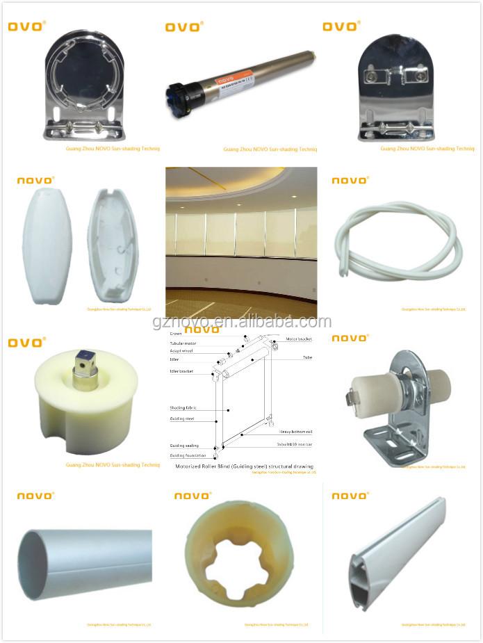 Automatic awning tubular motor electric roller blind - Soportes para cortinas ...
