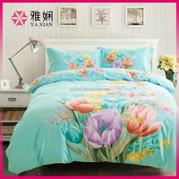 china 100% cotton fabric painting designs bed sheets