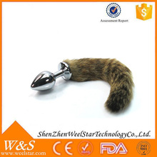 Sex product prostate massager, sex product for man and woman, dog tail anal plug sex product.