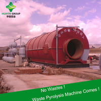 Used Tires To Fuel Oil Plant From Xinxiang Huayin Pyrolysis Manufacturer