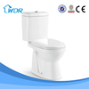 Made in China two-piece porcelain toilet bowl price
