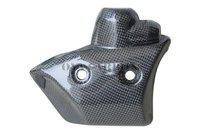 Carbon fiber Water Cooler Protection for Yamaha R1 2009