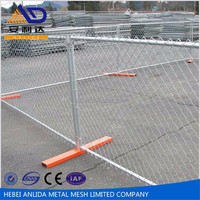 Australian / Canada Type Removable Galvanized Temporary Fence (High security)