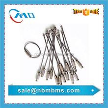 Stainless Steel Metal Custom Size Keyring