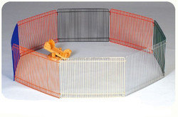 2015 High quality !! welded wire durable and good quality colorful dog pen pet pen