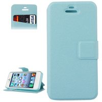 New product Leather Flip with Credit Card Slot case for iphone 5s