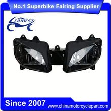 FHLYA018 Motorcycle Double Headlight For YZF R1 1998 1999 Clear Lens
