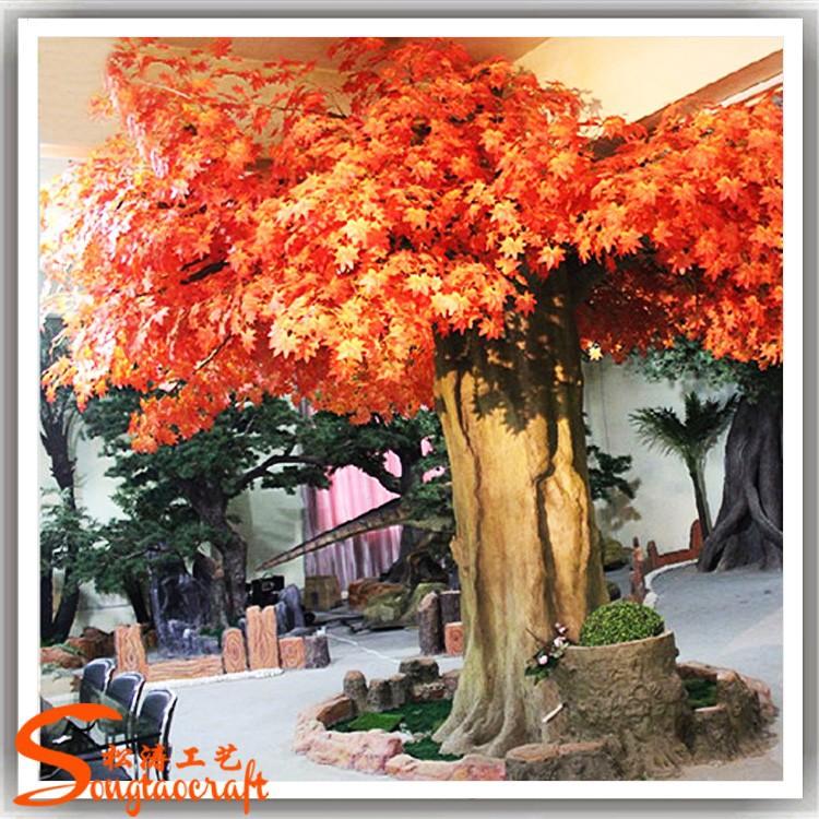 Usine pas cher grande artificielle janpanese arbre for Arbres en plastique artificiels