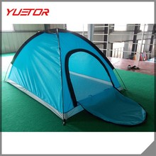 Foldable Couple Double 2 Person Tent Single-layer Camping Outdoor Waterproof