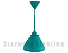 European retro hanging lamp vintage silicone pendant lamp kitchen table pendant lights