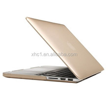 Frosted Hard Plastic Protective Case for Macbook Pro Retina 13.3 inch(Gold)