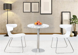 Cafe house/leisure area/dining room round table and chair set(FOH-BC36)