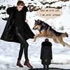 nobel design rabbit fur lining real fur hooded winter fur coat men