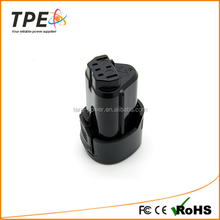 TPE Rechargeable Power Tool Battery For AEG: BS 12C, BS 12C2, BSS 12C