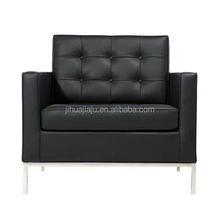 Classic Florence Knoll Sofa 1 Seat/floor seating sofa/leather 1 seat sofa