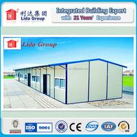 single story prefab house temporary living quarter laborers camp
