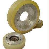 Pallet truck wheel weight