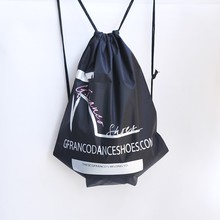 High-Heeled Shoes Promotional DrawString Backpack