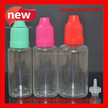 Factory price 20ml plastic juice bottles for liquid small bottles trade company