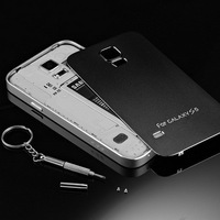 Metal Matte Surface Back Cover Case for Phone for Samsung Galaxy S5