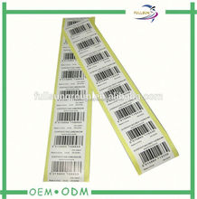 roll print labels&paper label printing&custom adheisve label
