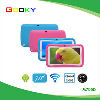 2015 high quality 7 inch capacitive touch screen android 5.1 tablet pc for kids learning