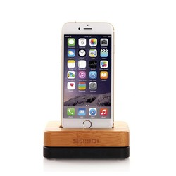 2015 New Luxury Wooden Phone Holder For iPhone Charging Stand Charging Dock For iPhone Holder