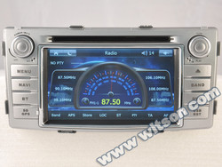 WITSON bluetooth car radio for TOYOTA Hilux 2012 with Built-in TV tuner