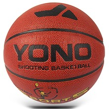 YONO Lamination Custom Full size YN-505 wholesale Cheap sales size 7/6/5/3/2 pu basketball balls