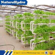 plastic oval hydroponics NFT pipe system