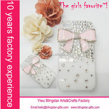 hot selling crystal rhinestone bling diamond case for iphone 6