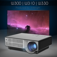 vivibright PRW310 hot sell mini led portable projector, low cost data show projector