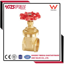 brass rising stem sluice gate valve with prices (ZH1101)